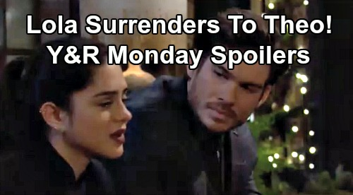 The Young and the Restless Spoilers: Monday, February 10 – Lola Surrenders to Theo's Passion – Adam Hides Riza Thomas Secret From Chance