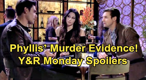The Young and the Restless Spoilers: Monday, February 17 – Phyllis' Murder Evidence - Devon's New Lead Points To Stolen Fortune