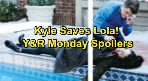 The Young and the Restless Spoilers: Monday, February 18 – Kyle Rescues Drowning Lola - Phyllis Cuts a Deal, Betrays Cover-up Crew