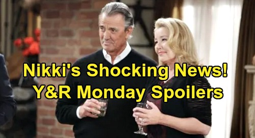 The Young and the Restless Spoilers: Monday, January 20 – Nikki's Shocking Announcement – 'Villy' Verges on Ruin – Kyle Fears Theo