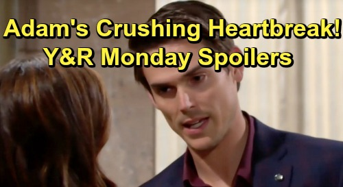 The Young and the Restless Spoilers: Monday, July 15 – Rey Reveals Buried Family Secret – Chelsea Gives Adam Heartache