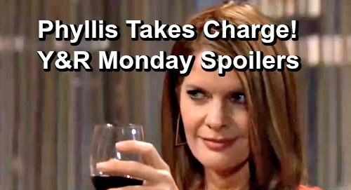 The Young and the Restless Spoilers: Monday, June 24 – Adam Caves to Phyllis' Demands – Desperate Victor Tries Plan B