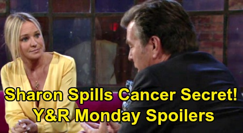 The Young and the Restless Spoilers: Monday, March 2 – Reed Visits Traumatized Victoria – Sharon Shares Cancer Secret with Jack