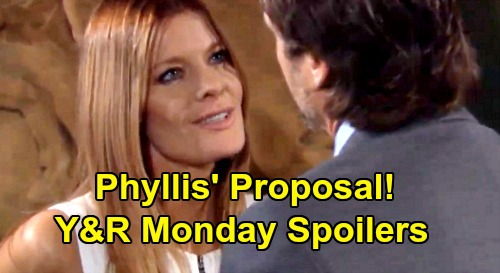 The Young and the Restless Spoilers: Monday, March 23 – Phyllis' Proposal for Nick – Mariah's New Life Without Tessa