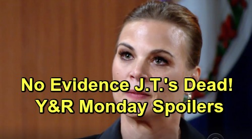 The Young and the Restless Spoilers: Monday, March 4 – No Evidence J.T. Is Dead – Summer's Liver Donor Match News