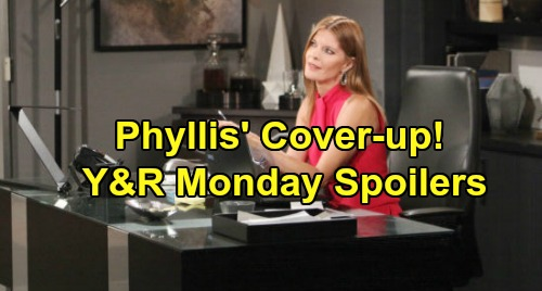 The Young and the Restless Spoilers: Monday, October 14 – Nick Rises to the Challenge – Phyllis' Cover-up – Sharon & Rey's Next Step