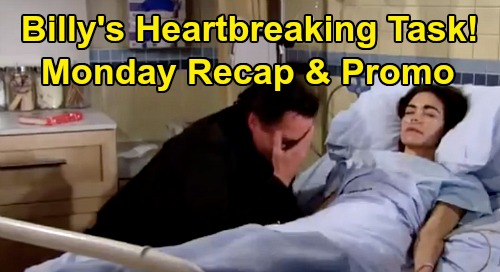 The Young and the Restless Spoilers: Monday, February 24 Recap – Billy's Heartbreaking Task - Adam's Risky Opportunity – Noah Says Goodbye