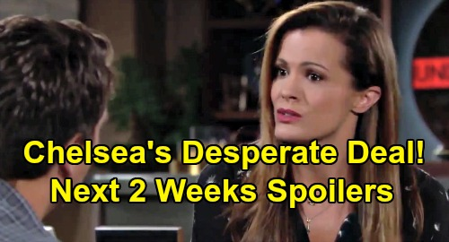 The Young and the Restless Spoilers Next 2 Weeks: Lola's Scary Omen, Secret Visitor – Chelsea Forced Into Desperate Deal