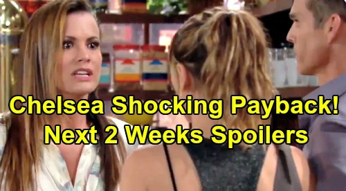 The Young and the Restless Spoilers Next 2 Weeks: Chelsea Brings Chloe Pain – Adam Hides His Trail – Billy's Attempted Murder