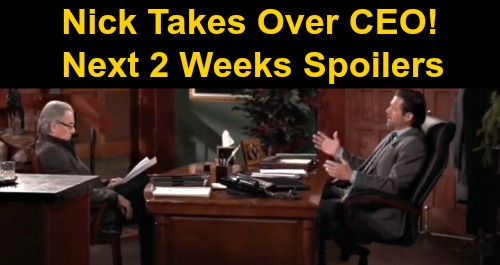 The Young and the Restless Spoilers Next 2 Weeks: Victoria Reunites with Reed – Victor Makes Nick CEO Over Adam – Jack's Bad News