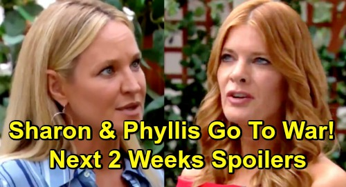 The Young and the Restless Spoilers Next 2 Weeks: Sharon and Chelsea Go to War – Adam Betrayed – Abby and Nate Get Hot