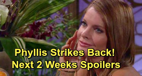 The Young and the Restless Spoilers Next 2 Weeks: Phyllis Strikes - Chelsea and Nick Plot Against Adam – Kevin Searches For Chloe