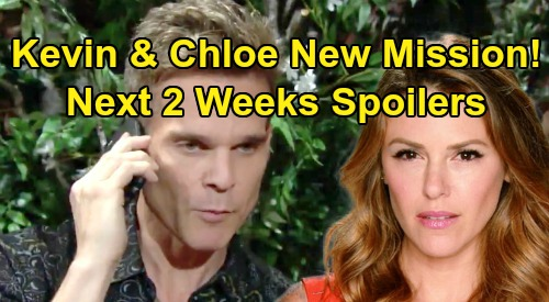 The Young and the Restless Spoilers Next 2 Weeks: Jack Drops Cousin Theo Bomb On Kyle - Chloe and Kevin's Undercover Mission