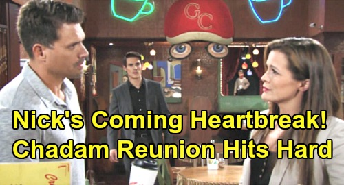 The Young and the Restless Spoilers: Nick Sets Himself Up for Chelsea Heartbreak – Chadam Reunion Hits Hard