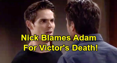 The Young and the Restless Spoilers: Week of September 16 Preview – Victor's Gone, Nick Blames Adam – Sharon and Jack Reconnect
