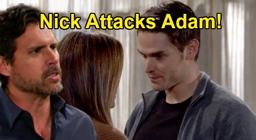 The Young and the Restless Spoilers: Nick Attacks Adam After Phyllis Betrayal – Chelsea Caught in Explosive Newman War