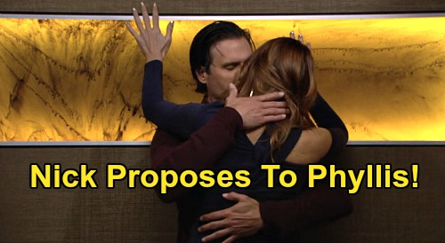 The Young and the Restless Spoilers: Nick Proposes to Phyllis, Caught Up in Passion – Engagement Brings Summer Freak-Out?