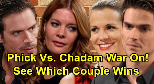 The Young and the Restless Spoilers: Nick & Phyllis vs. Adam & Chelsea – Vicious Powercouple Battle - See Which Duo Wins?