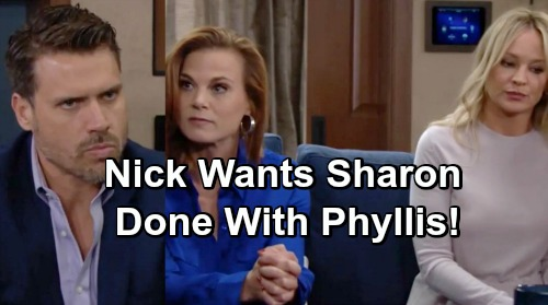 The Young and the Restless Spoilers: Nick Wants Sharon Back - Done With Phyllis, Desperate For Fresh Start