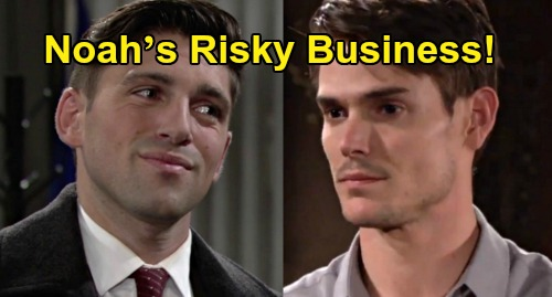 The Young and the Restless Spoilers: Noah's Loyalty Tested, Adam's Tempting Dark Horse Offer – Risky Business for the Newman Men?