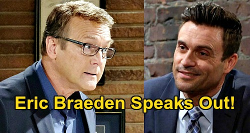 The Young and the Restless Spoilers: Eric Braeden Demands Daniel Goddard (Cane Ashby) & Doug Davidson (Paul Williams) Back On Y&R