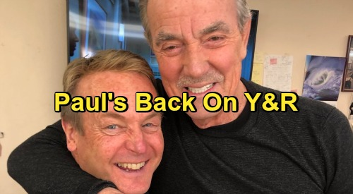 The Young and the Restless Spoilers: Doug Davidson Back as Paul Williams - Eric Braeden Shares Y&R Return News with Fans