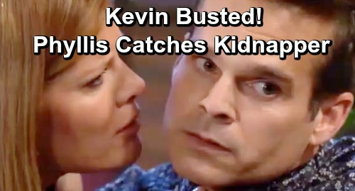The Young and the Restless Spoilers: Raging Phyllis Attacks Kidnapper Kevin – Stunning Clue Confirms Captor's Guilt