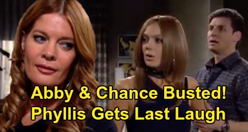The Young and the Restless Spoilers: Abby & Chance Busted For Safe Deposit Box Impersonation Scam - Phyllis Gets Last Laugh?