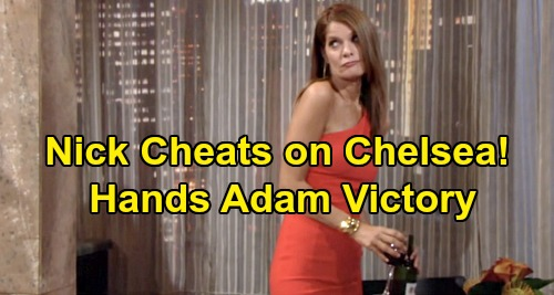 The Young and the Restless Spoilers: Nick Cheats on Chelsea, Last Straw for 'Chick' – Hot Phyllis Hookup Hands Adam Victory?