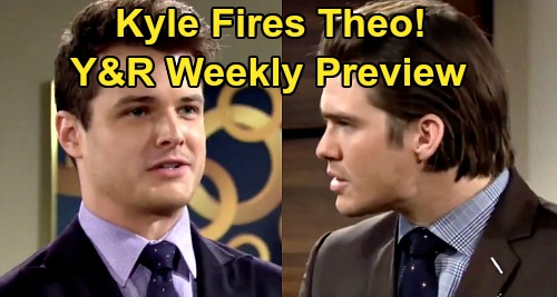 The Young and the Restless Spoilers: Week of April 20 Preview – Kyle's Big Victory, Theo's Down & Out – Chloe's Baby Shower
