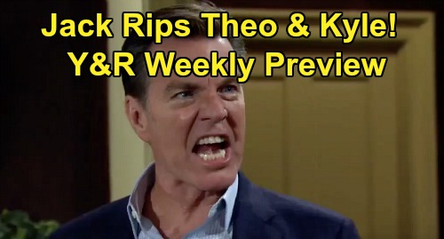 The Young and the Restless Spoilers: Week of April 6 Preview – Jack Punishes Theo & Kyle – Victor's Hiding Shocking Secret