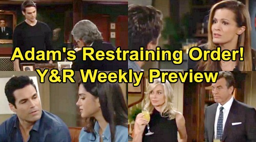The Young and the Restless Spoilers: Week of August 12 Preview – Adam Attacks Victor Over Restraining Order - Chelsea Ready to Run
