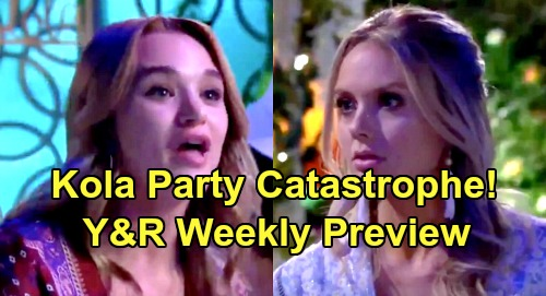 The Young and the Restless Spoilers: Week of August 5 Preview – Sharon Surrenders to Adam's Hot Hookup – Kola Party Disaster