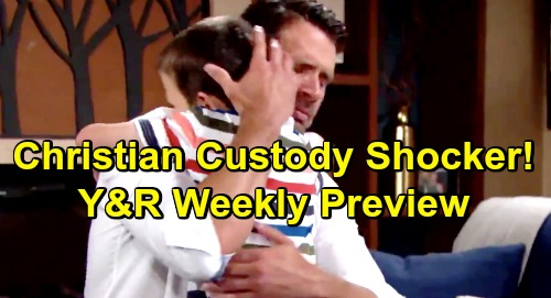 The Young and the Restless Spoilers: Week of July 22 Preview - Billy's Delia Gaslighting - Nick's Custody Case Disaster