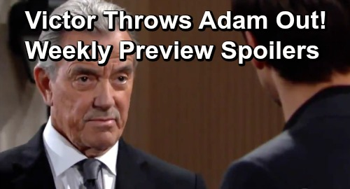 The Young and the Restless Spoilers: Week of June 17 Preview – Victor Sides With Nick On Christian Custody, Throws Adam Out
