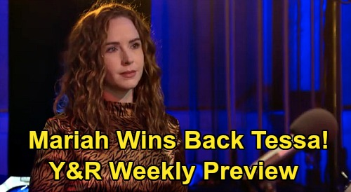 The Young and the Restless Spoilers: Week of March 16 Preview – Mariah Mission to Win Back Tessa, Fix Brutal Breakup - 'Teriah' Reunion
