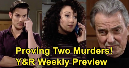 The Young and the Restless Spoilers: Week of March 23 Preview – Adam & Alyssa Solve 2 Two Murders – Victor's War Over The Truth