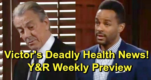 The Young and the Restless Spoilers: Week of May 27 Preview – Victor's Deadly Health News – Dina Feels Dumped – Neil's Will Reading