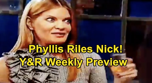 The Young and the Restless Spoilers: Week of November 18 Preview – Colin's Shocking Story – Chance's Offer for Abby – Phyllis Riles Nick