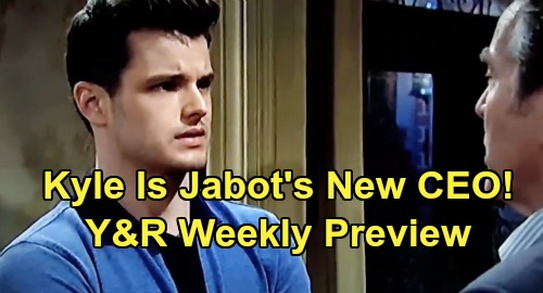 The Young and the Restless Spoilers: Week of Sept 2 Preview – Kyle Is Jabot's New CEO - Adam's Cruel Victor Takedown Plot