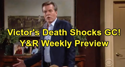 The Young and the Restless Spoilers: Week of September 16 Preview – Genoa City Reacts to Victor's Death – Billy Fights for Sanity