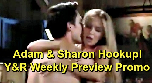 The Young and the Restless Spoilers: Shocking Week of May 27 Promo – Adam and Sharon's Hot Hookup, Passion Erupts for Old Flames