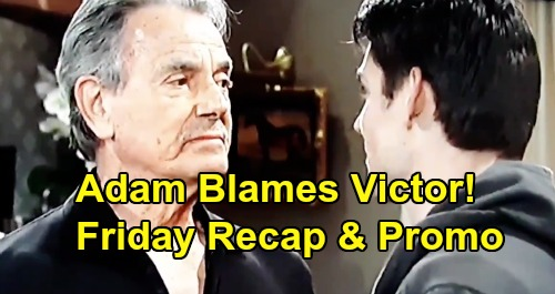 The Young and the Restless Spoilers: Friday, August 30 Recap – Billy Held Captive – Adam Accuses Victor of Attempted Murder