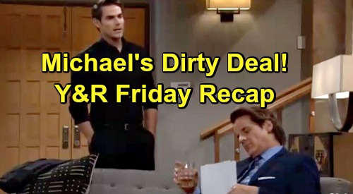 The Young and the Restless Spoilers: Friday, July 19 Recap - Victor's Total Confusion - Michael's Dirty Deal - Kyle's Confession