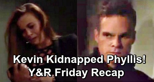 The Young and the Restless Spoilers: Friday, June 7 Recap – Kevin Holds Phyllis Hostage – Adam's Cruelty Rattles Sharon