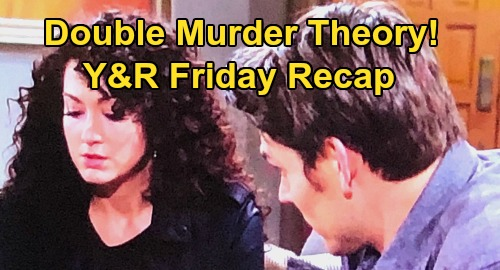 The Young and the Restless Spoilers: Friday, March 20 Recap – Alyssa Rages at Adam's Murder Theory – Chelsea's Con Job – Amanda's Bad News