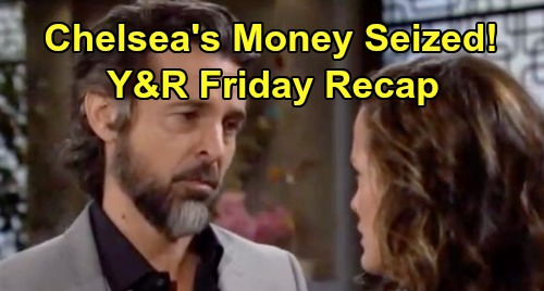 The Young and the Restless Spoilers: Friday, November 1 Recap – Simon Panics Chelsea, Money Seized – Victor Investigates Amanda