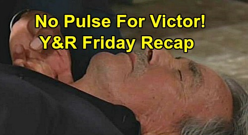 The Young and the Restless Spoilers: Friday, September 13 Recap – Victor Collapses, Nate Can't Find Pulse – Chloe Confesses to Victoria