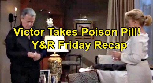 The Young and the Restless Spoilers: Friday, September 6 Recap – Nick Says Chance is Will Challenger – Victor Falls for Adam's Trick