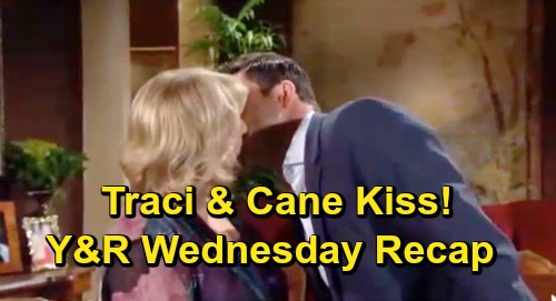 The Young and the Restless Spoilers: Wednesday, June 26 Recap – Jack and Phyllis' Fierce Faceoff – Cane Kisses Traci - Meet Celeste